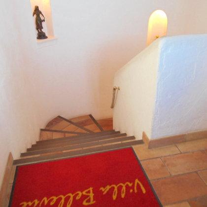 L'escalier comme dans un chateau